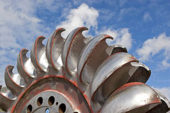 Turbine wheel, Royalty Free Stock Photos