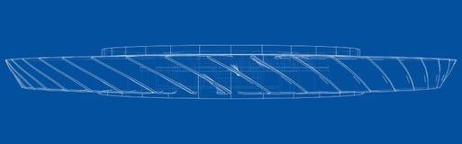Free Turbine Wheel Concept Outline. Vector Royalty Free Stock Photo - 183277195