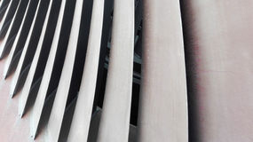 Turbinebladen Stock Afbeelding