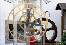 Turbinen-Wasser-Uhr stockbilder