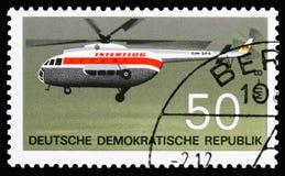 Turbinenhubschrauber, Luftfahrt serie, circa 1969 stockbilder