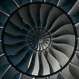 Turbinenschaufeln beflügelt Effekt abstrakten Fractal-Musterhintergrund Turbinenschaufel-Produktion des Kreises metallischer Hint lizenzfreie stockfotografie