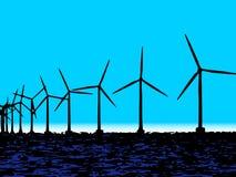 Turbinenzentrale Stockfotografie