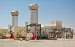 Turbines à gaz Photos libres de droits
