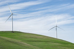Turbines, Altamont Pass Royalty Free Stock Images