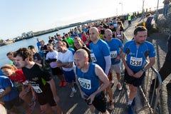 Turbines de marathon Photographie stock