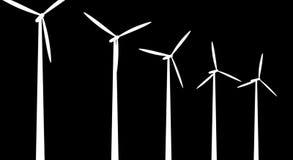 Turbines de vent banque de vidéos