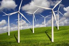 Turbines de vent Image stock
