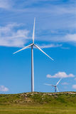 Turbines de vent du Kansas Photo stock