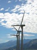 Turbines de vent en Californie Photos stock