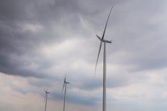 Turbines de vent - tempête Image libre de droits