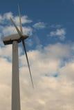 Turbines de vent, zone jaune Images libres de droits
