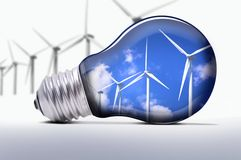 Turbines lamp Royalty Free Stock Photos