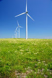 Turbines In Line Stock Photography