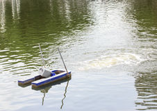 Turbines pour l'oxygène d'augmentation dans l'eau Photos libres de droits