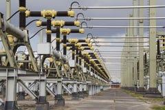 Turbines of a Powerplant Stock Image