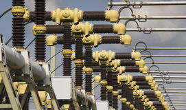 Turbines of a Powerplant Royalty Free Stock Photo