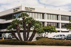 Turbines solaires inc. bâtiment à San Diego, la Californie Image libre de droits