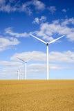 Turbines van de wind 2 Stock Fotografie
