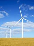 Turbines van de wind 3 Stock Fotografie