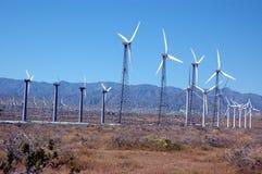 Turbines van de wind 3 royalty-vrije stock foto