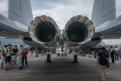 Turbinevliegtuigen Stock Foto