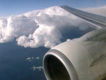 Turbinflygplan Fotografering för Bildbyråer