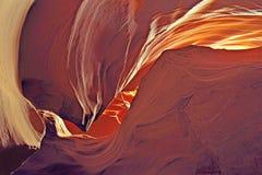 Turbinii del canyon dell'antilope Immagine Stock Libera da Diritti