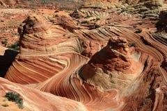 Turbinii e rotazioni della roccia Fotografie Stock