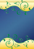 Turbinii verdi dell'estratto Fotografia Stock