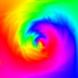 Turbinio astratto dei colori. Fotografia Stock