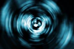 Turbinio astratto intorno ad un occhio Fotografie Stock Libere da Diritti