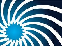 Turbinio in azzurro Fotografia Stock