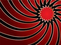 Turbinio in colore rosso & oro Immagine Stock