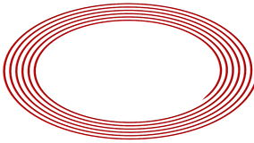 """Turbinio del †a spirale ipnotico """" illustrazione vettoriale"""