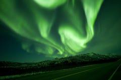 Turbinio dell'aurora fotografie stock libere da diritti