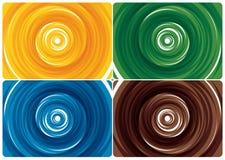 Turbinio di colore Fotografia Stock Libera da Diritti
