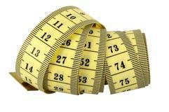 Turbinio di misurazione del nastro Immagini Stock Libere da Diritti