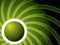 Turbinio nel verde Immagini Stock