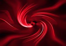 Turbinio rosso astratto Illustrazione di Stock