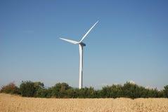 Turbinowy eoliche w sud Italia, Obrazy Stock