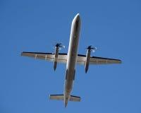 Turbinowy samolot obrazy royalty free