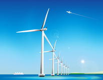 turbinwind stock illustrationer