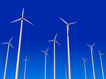 turbinwind vektor illustrationer