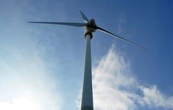 turbinwind för alternativ energi Arkivbilder