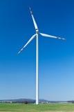turbinwind för alternativ energi Fotografering för Bildbyråer