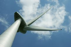 turbinwind för alternativ energi Royaltyfria Foton