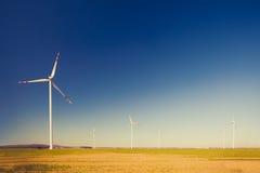 turbinwind för alternativ energi Royaltyfri Fotografi