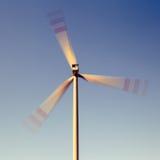 turbinwind för alternativ energi Arkivbild