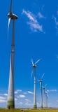 turbiny władz przez wiatr Zdjęcia Stock